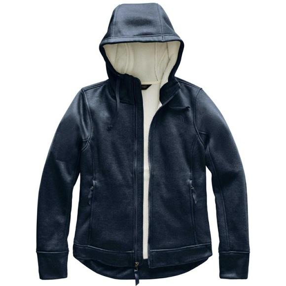 000da0e58 The Northface mattea full zip fleece hoodie Boutique